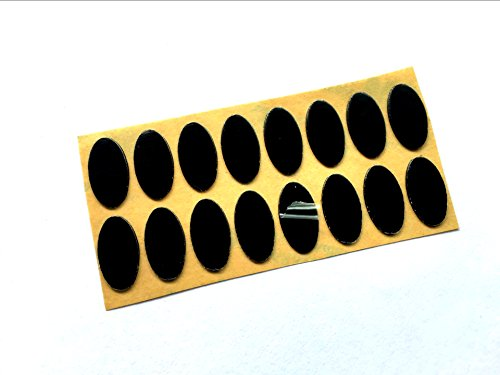Mouse Skates Pads Mouse Feet for Logitech Corded Mouse M500 (Pack of 20,16.8mm9mm 0.6mm)