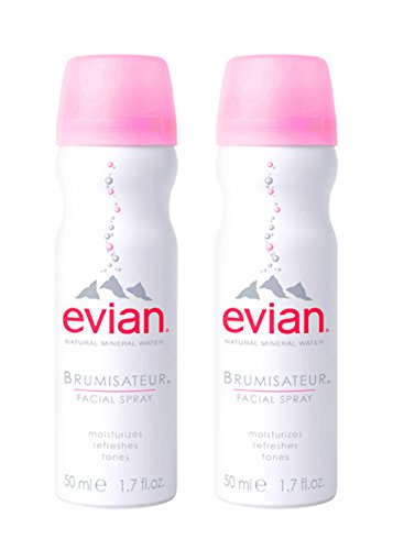 Evian Natural Mineral Water Facial Spray, 1.7 oz. Travel Size