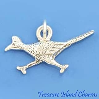 Road Runner Bird Charm Hiking Camping Charms Outdoors Bird Charm Feathers Wings