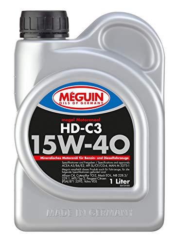 Meguin 4729 Megol Motoröl HD-C3 SAE 15W-40, 1 L