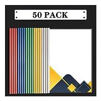 ビジネスクリップボード バーレポートをスライディングファイルフォルダのクリアはA4サイズ用紙のために主催バインダーをカバーし、5色の70シート容量オフィス学校は、プレゼンテーションファイルのフォルダ用品 事務用品 (Color : E)