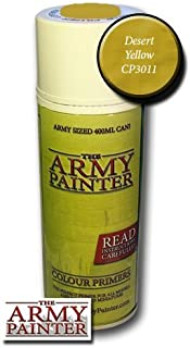 The Army Painter Spray Paint Can Colour Primer Desert Yellow