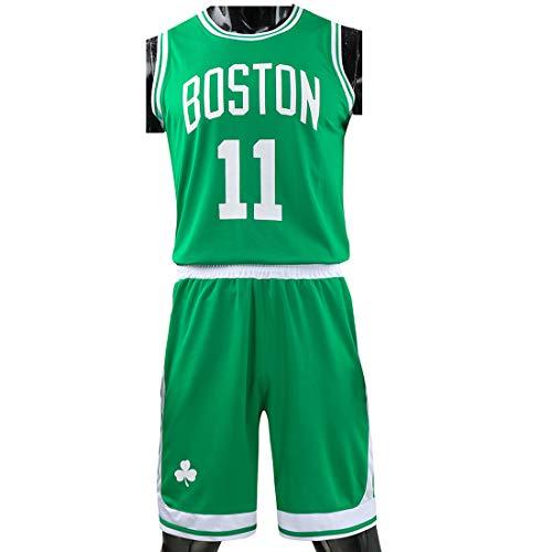 Basketball -Trikots Herren Irving # 11 Basketball Shirt Basketballanzug Weste Top Sommer Shorts Jersey Kits Erwachsene