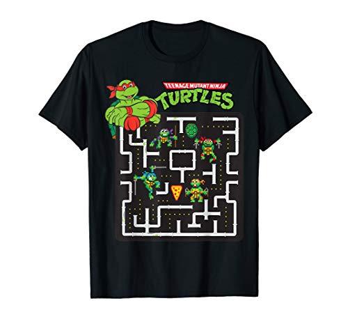 Pac-man Teenage Mutant Ninja Turtles Mash-Up T-shirt for Men, Women, KIds Up to 3XL