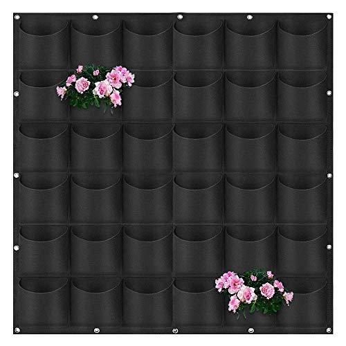 fioriera da esterno nero Fioriera Verticale da Parete