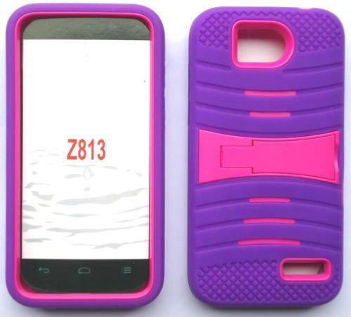 uPURPLE/Pink Phone Case Cover for ZTE Overture 2 / Z813, ZTE Atrium / Z793C, ZTE Scend LTE / Z791g, ZTE Maven / Z812 / ZTE Fanfare