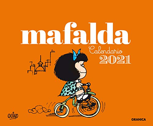 GRANICA Calendario 2021 Mafalda Escritorio - Anaranjado (sin caja)