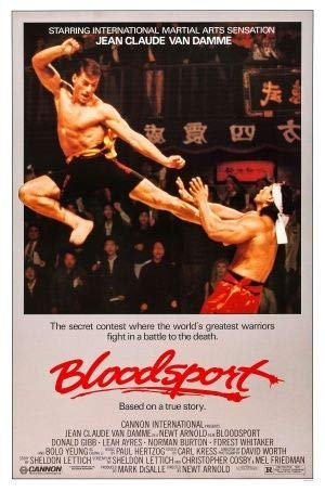 Bloodsport – Jean Claude Van Damme – US Imported Movie Wall Poster Print - 30CM X 43CM
