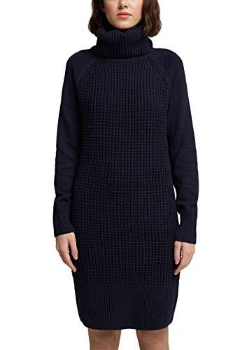 edc by ESPRIT Damen 100CC1E302 Kleid, 400/NAVY, S