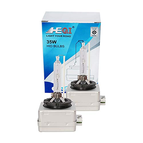 D3S Xenon HID Headlights Bulb - 6000K 35W Replacement Lights -2 Yrs Warranty- Pack of 2