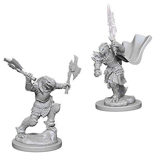 D&D Nolzurs Marvelous Unpainted Miniatures: Wave 4: Dragonborn Female Fighter