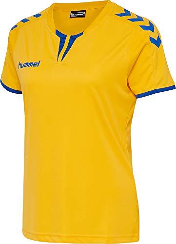 Hummel Damen Trikot Core Womens SS Jersey 003649 Sports Yellow/True Blue2 L