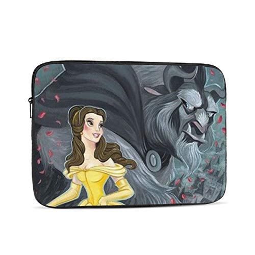 Laptop Sleeve Case- Multi Size Beauty and The Beast Notebook Computer Protective Bag Tablet Briefcase Carrying Bag,13 Inch
