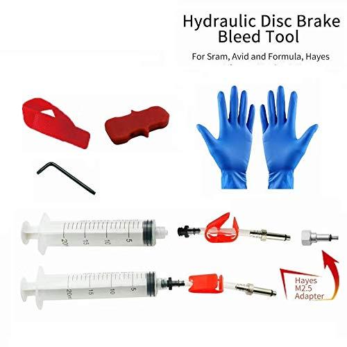 Bicycle Hydraulic Disc Brake Bleed Kit for SRAM AVID Formula HAYES