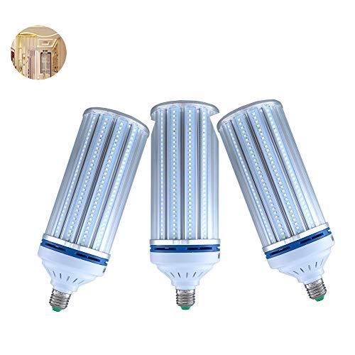 SYHSZ Lampadina A LED A Mais 60W E27, 3500K Lampadine A Incandescenza Bianche da 600W Bianche Equivalenti Non Dimmerabili Lampadine Mais LED (3 Confezioni),60W
