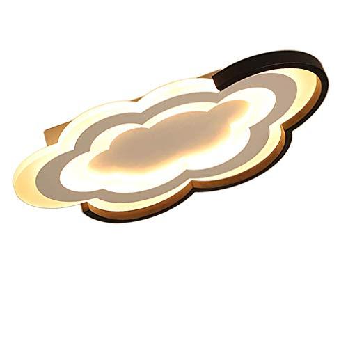 LED plafondlamp dimbaar voor kinderkamer met afstandsbediening, moderne wolken, kinderkamer voor creatieve kinderkamer, plafondverlichting, mooie sfeer, plafondlamp voor woonkamer, 30W,