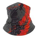 Lot de 2 masques traditionnels Ryu Street Fighter pour la poussière, l'extérieur, les festivals, le sport