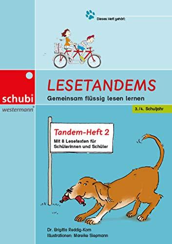 Lesetandems - Gemeinsam flüssig lesen lernen: Tandem-Heft 2 (3./4. Schuljahr)