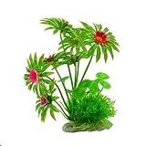 Gather together A 14 plantas de acuario de simulación de hierba de agua de paisajismo plantas falsas de plástico artificial planta de agua verde para acuario decoración