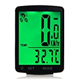 Lurowo Bicycle Speedometer with LCD Display Wireless MTB Bike Cycle Computer Odometer Rainproof