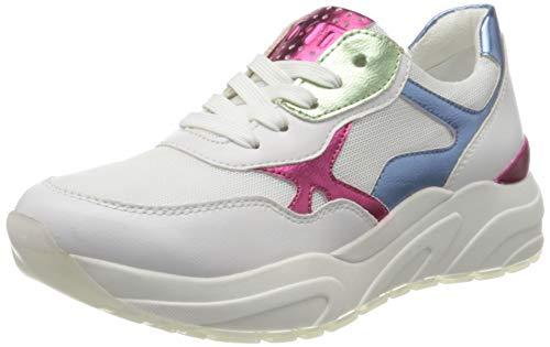 MARCO TOZZI Damen 2-2-23747-34 Sneaker, Mehrfarbig (White/Blue M. 161), 41 EU