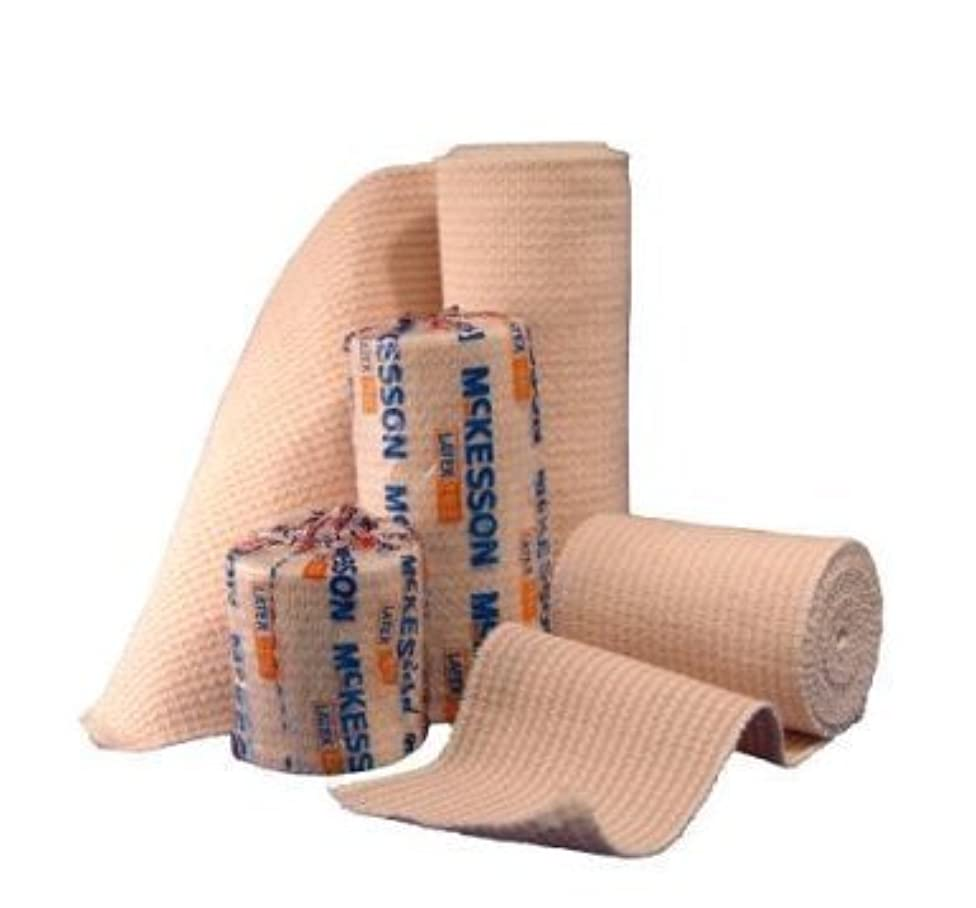 Elastic Bandage McKesson 4 Inch X 5 Yard Hook and Loop Closure NonSterile