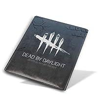 Dead By Daylight オリジナル 高級PUレザー ブックカバー 手帳型 軽量 耐久性 防水 ハンドメイド シンプル お洒落 28×51センチメート