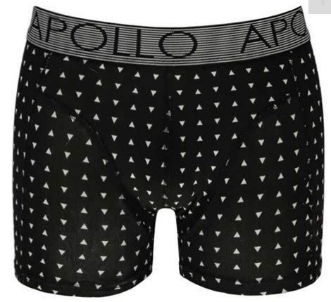 Apollo - boxershort heren - 2 pack - Zwart - Maat XL