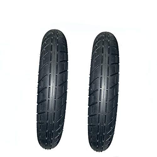 amalibay 2 neumáticos eléctrico de la Rueda de la Vespa, neumático sólido del monopatín Neumático de Goma Ruedas del neumático Cubierta 10 Pulgadas xuancheng para el monopatín eléctrico