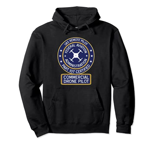 FAA Commercial Drohne Pilot Pullover...