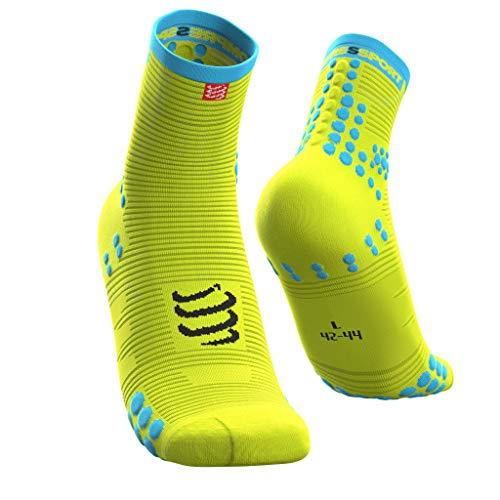 COMPRESSPORT SH3T3FY Calcetines, Sin género, Blanco, 3XL