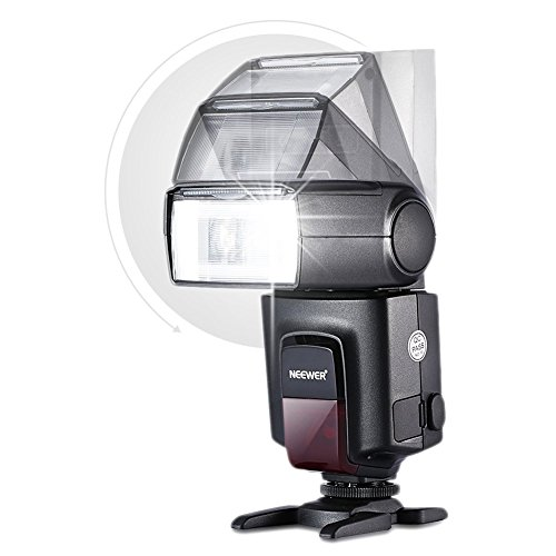 Neewer TT560 Flash Speedlite for Canon Nikon Panasonic Olympus Pentax and Other DSLR Cameras,Digital Cameras with Standard Hot Shoe