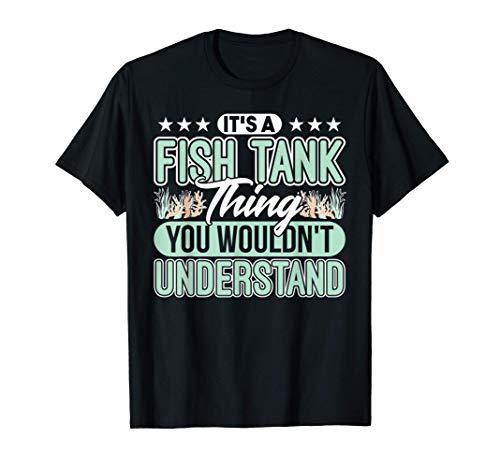 Aquarium Koralle Fisch Aquascape Aquaristiker T-Shirt