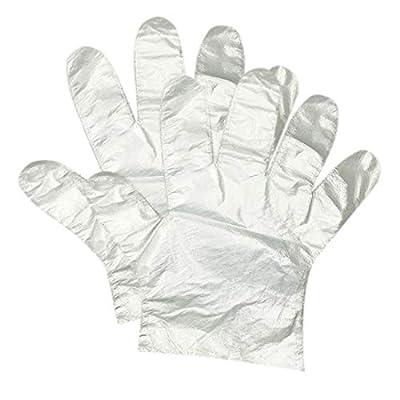HLIN 1500 Pcs Disposable Food Handling Gloves Transparent, One Size Fits Most