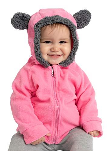 Cuddle Club Chaqueta Polar niño/niña Ropa Bebé y Niño de 0 a...