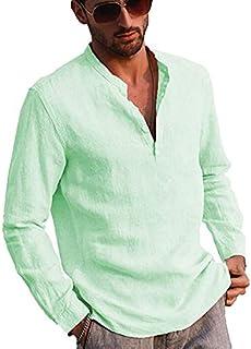 Amazon.es: Verde - Camisetas de manga larga / Camisetas ...