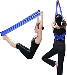 TRIXES Pilates Band Rubber Yoga Resistance Fitness Exercise Band