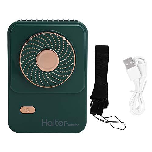 Eulbevoli Ventilador USB, Ventilador eléctrico de 3 velocidades Alimentado por USB para Verano caluroso para Viajes Familiares en la Oficina(Green, Pisa Leaning Tower Type)