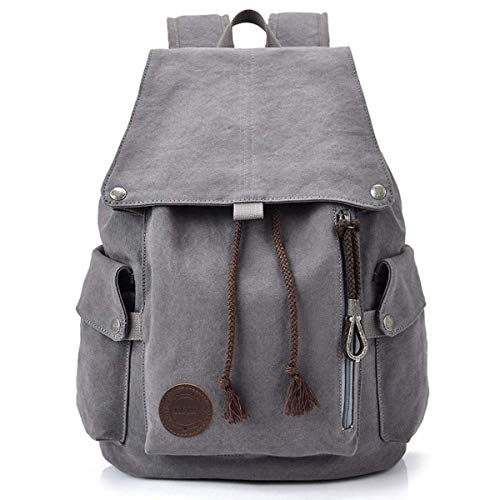 Cooleaf Canvas Leinwand Rucksack Vintage für Outdoor Camping Außflug Sports Universität...