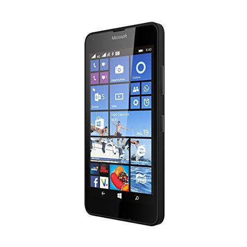 """Microsoft Nokia Lumia 640, Smartphone sbloccato, 4G, schermo 5"""", 8 Gb, double SIM, SO Windows, Nero"""