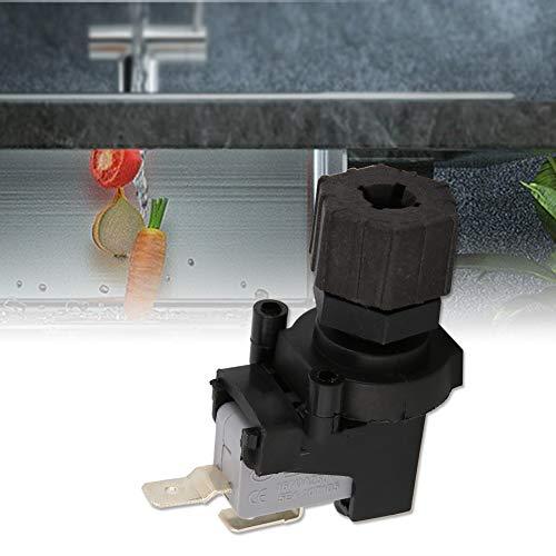 GXMZL Micro Interruptor de presión - Interruptor de presión de Aire diferencial Ajustable Micro Interruptor de presión 125-250V for triturador de desechos de Alimentos y Jacuzzi