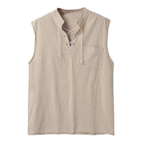 Cinnamou Homme Survêtement Chemises Manches Courtes Beach Shirt Shorts Suit T-Shirt Sportswear avec Poche Top Veste Patchwork