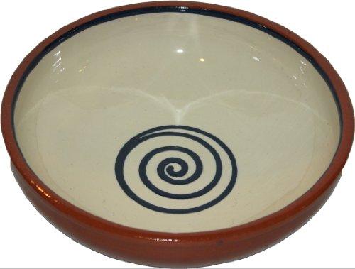 Amazing Cookware Bol Spirale 17 cm, crème/Bleu