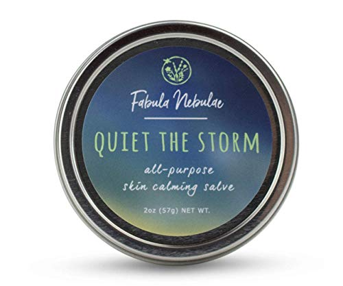 Quiet the Storm salve, Organic and Cruelty-free, 2oz tin