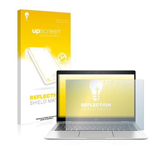 upscreen Entspiegelungs-Schutzfolie kompatibel mit HP Elitebook x360 1040 G6 – Anti-Reflex Bildschirmschutz-Folie Matt