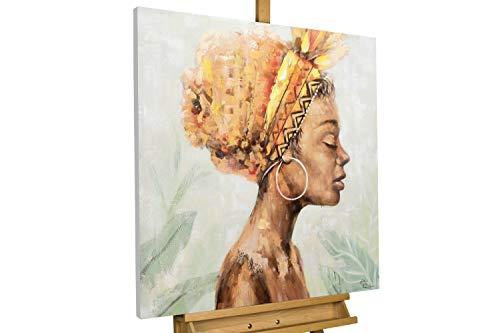 KunstLoft Acryl Gemälde 'Anmut und Grazie' 80x80cm handgemalt Leinwand Bild