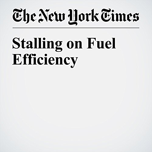Stalling on Fuel Efficiency cover art
