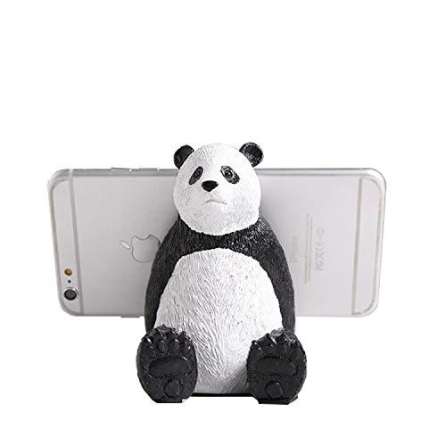 ONEYIM Soporte de teléfono para escritorio, divertido oso polar panda soporte de teléfono celular de dibujos animados animados, tabletas de teléfono soporte para iPhone, iPad, Samsung Phone (Panda)