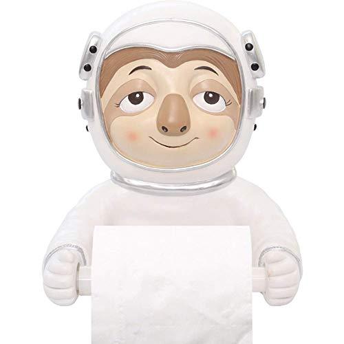 Soporte para papel higiénico Espacio creativo para animales Máquina tragamonedas Tubo de papel higiénico Bandeja de baño montada en la pared Toallero de papel Papel higiénico Dibujos animados sin per