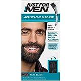 Just For Men Moustache & Barbe Teinture Barbe, M55 - Vrai Noir